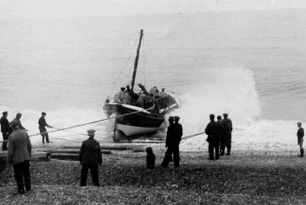 Lucy Lavers' launch © Aldeburgh Museum, Aldeburgh, Suffolk